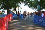 Triathlon bike start