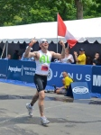 NYC Triathlon Finish Line