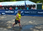 New York City Triathlon Finish Line